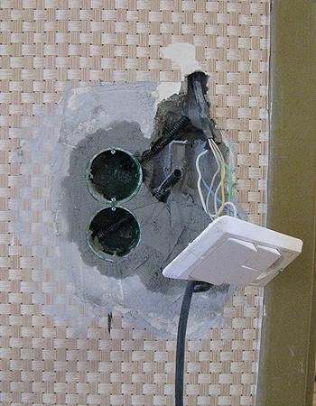 выключателя с розеткой